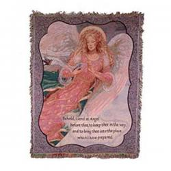 Behold Angel Sympathy Throw Blanket