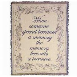 Someone Special Tapestry Throw