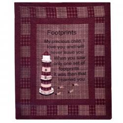 Footprints quilt