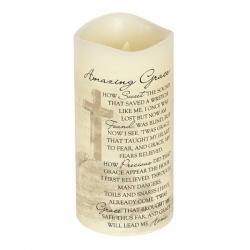 Everlasting Glow Candle Amazing Grace