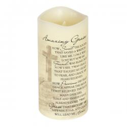 Everlasting Glow Candle Amazing Grace