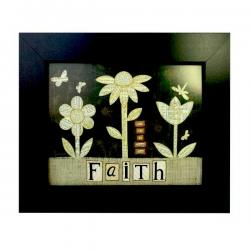 FAITH folklore art gift
