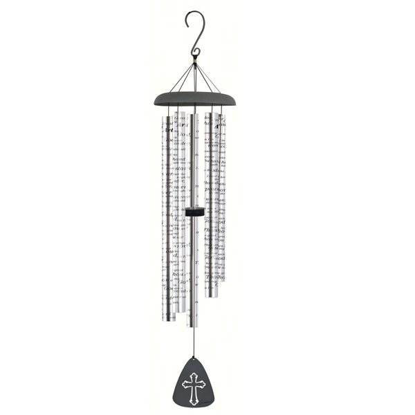 Carson Wind Chime How Great Thou Art | Sympathy Winchimes | Funeral Gift | Wholesale Wind Chimes
